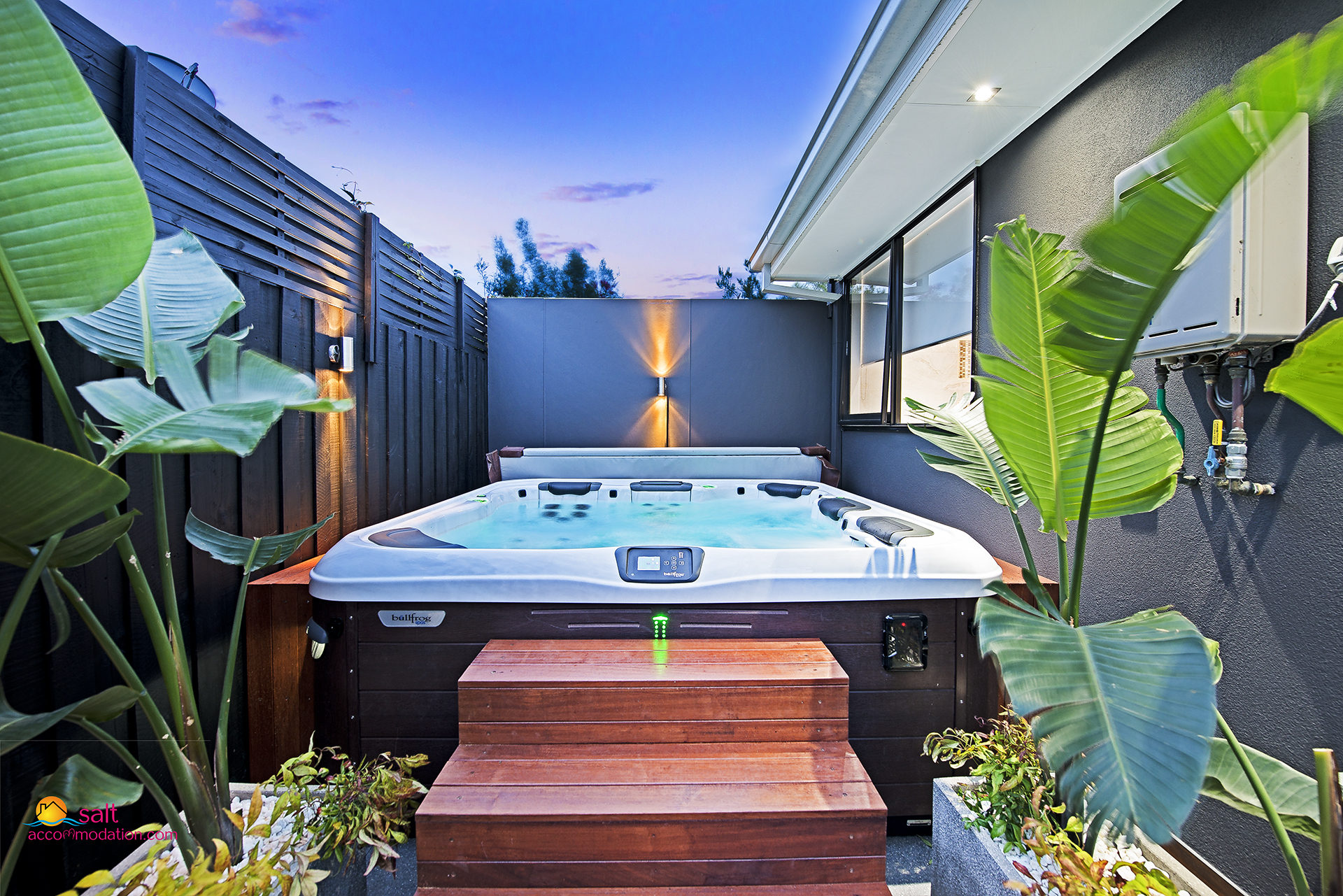 SPA VILLA MORNINGTON